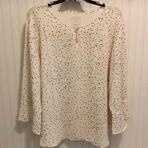 Darling Van Heusen polka dot print blouse